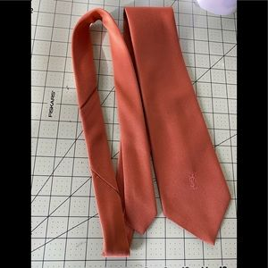 Yves Saint Laurent executive style designer tie